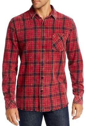 Zee Gee Why Denim Plaid Regular Fit Shirt