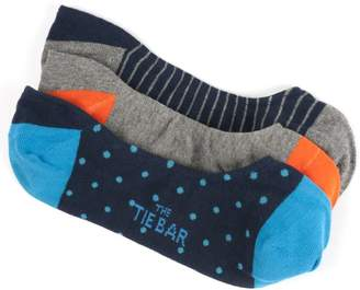 The Tie Bar The Navy No-show Sock Pack