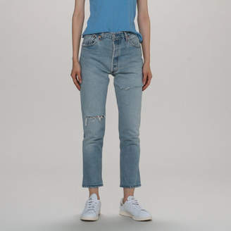 RE/DONE リダン HIGH RISE ANKLE CROP RIPPED (LEVI'S)