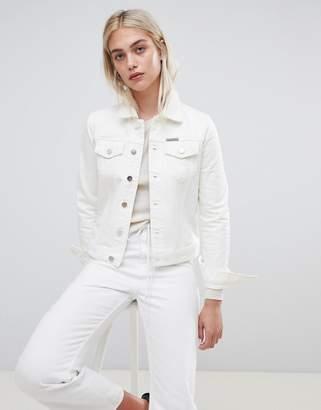 Calvin Klein clean line denim trucker jacket