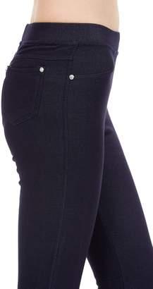 Expert Design ED Women's Regular Solid Denim Fleece Jeggings