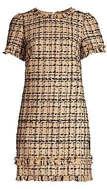 Kate Spade Women's Heart It Bi-Color Tweed Shift Dress