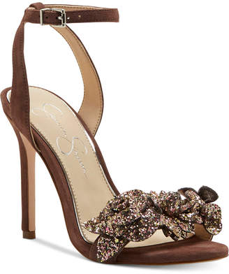 Jessica Simpson Jazzy Embellished Dress Sandals Women's Shoes