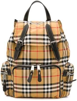 Burberry Vintage check medium rucksack