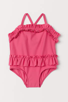 H&M Frilled swimsuit