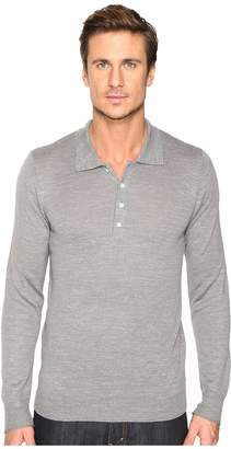 7 For All Mankind Long Sleeve Polo Sweater Men's Sweater