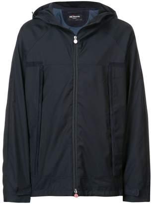 Kiton hooded waterproof jacket