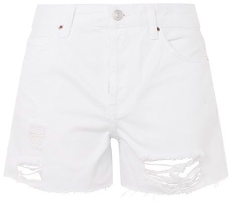Topshop Topshop Moto white ashley shorts