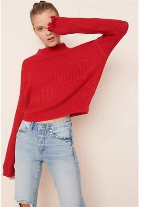 Garage Mock Neck Sweater