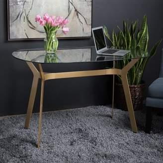 Studio Designs HOME Archtech Modern Glass Desk