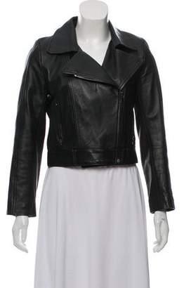 Reformation Leather Biker Jacket