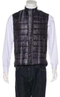 Vince Quilted Zip Vest