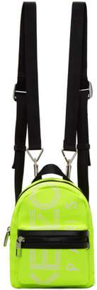 Kenzo Yellow Mini Logo Backpack