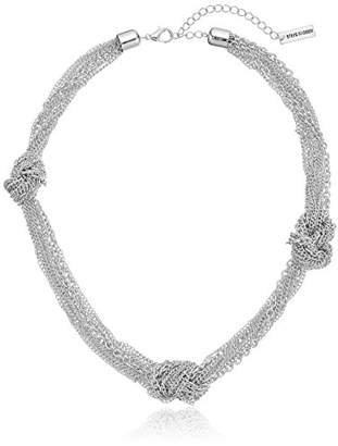 Steve Madden Knotted Chain Necklace