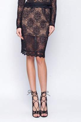 Gentle Fawn Lace Mesh Skirt