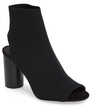 Women's Steve Madden Sunnie High Peep Toe Bootie $119.95 thestylecure.com