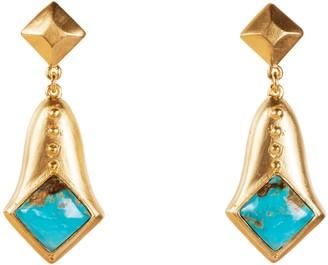 Christina Greene Plath Earrings in Turquoise