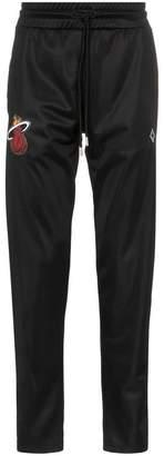 Marcelo Burlon County of Milan Miami Heat logo applique track pants