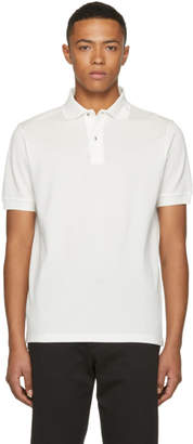 Paul Smith White Charm Button Polo