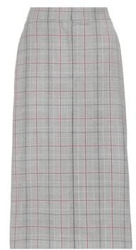 Calvin Klein Plaid wool pencil skirt