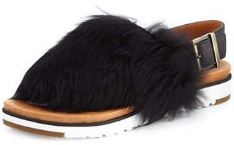 UGG Holly Sheepskin Slingback Sandal