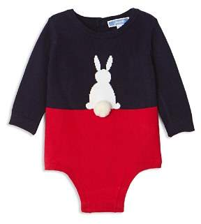 Jacadi Girls' Color-Block Bunny Bodysuit - Baby