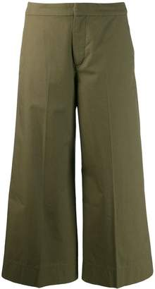 Hope cropped wide leg trousers