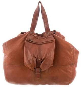 Jerome Dreyfuss Billy Pebbeled Leather Bag