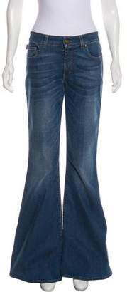 Tom Ford Mid-Rise Wide-Leg Jeans