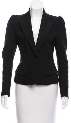 Plein Sud Jeans Structured Wool Blazer