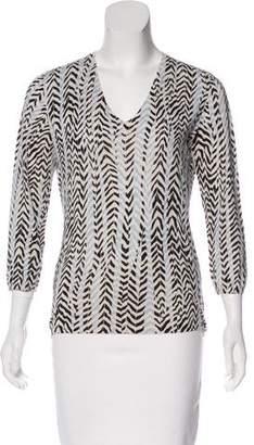 TSE Long Sleeve V-Neck Sweater