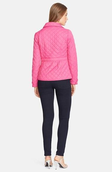 Lauren Ralph Lauren Peplum Hem Quilted Jacket 2