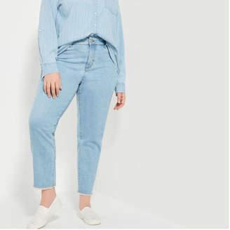 Joe Fresh Women+ High Rise Ankle Jeans, Indigo (Size 22)