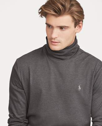 Ralph Lauren Soft-Touch Cotton Turtleneck