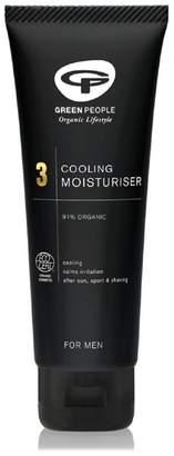Mens Organic Men's Cooling Moisturiser, Vegan 100ml - No Colour