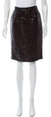 Dolce & Gabbana Sequin Pencil Skirt w/ Tags