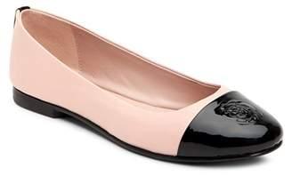 Taryn Rose Women's Adrianna Cap Toe Ballet Flats