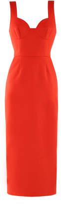 Lake Studio Bustier Midi Dress