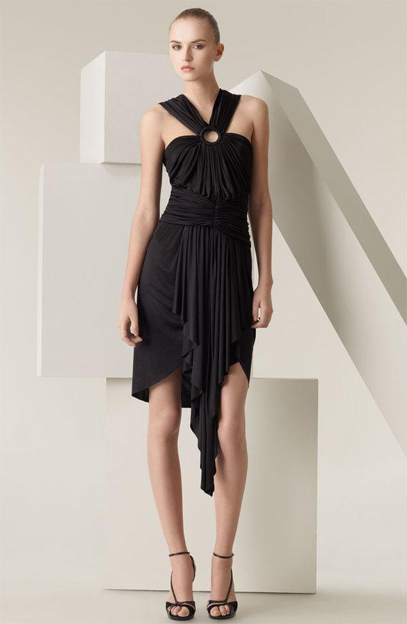 Zac Posen Draped Jersey Dress
