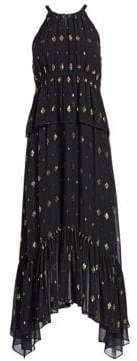 A.L.C. Rosa Filcoupe Midi Dress
