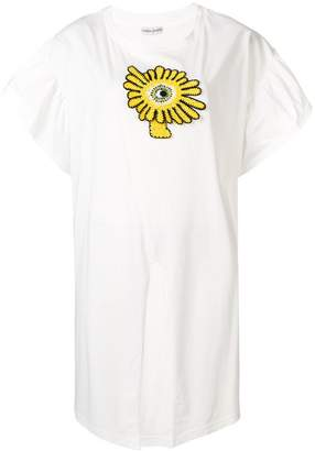 Tsumori Chisato crochet applique T-shirt