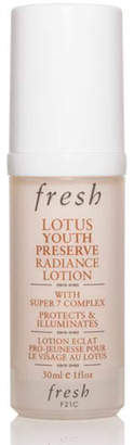 Fresh Lotus Youth Preserve Radiance Lotion with Super 7 Complex