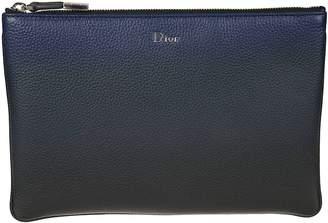 Christian Dior Classic Leather Clutch