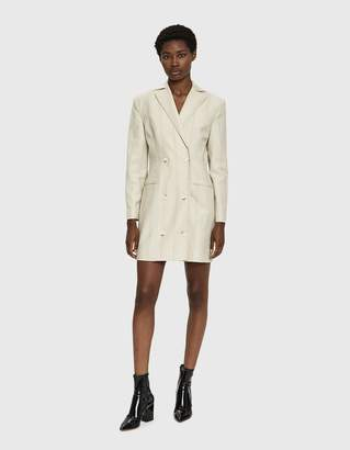 Eckhaus Latta Double Breasted Suit Dress