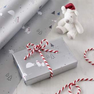 The White Company Polar Bear Wrapping Paper 5m