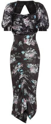 Preen by Thornton Bregazzi Gizzy floral midi dress