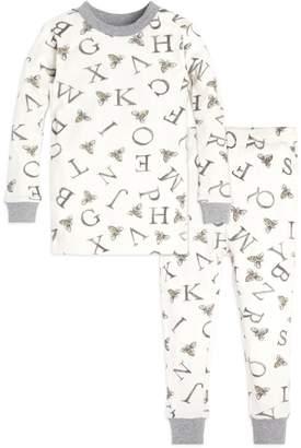 Burt's Bees A-Bee-C Organic Toddler Pajamas