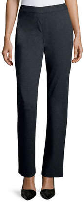 Lafayette 148 New York Punto Milano Straight-Leg Pants, Plus Size