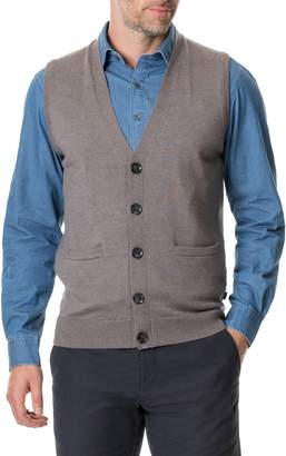 Rodd & Gunn Haywards Merino Wool Sweater Vest