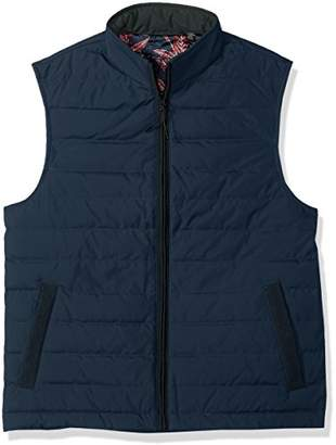 Ted Baker Men's Jozeph Modern Slim Fit Quilted Gilet Rib Trim